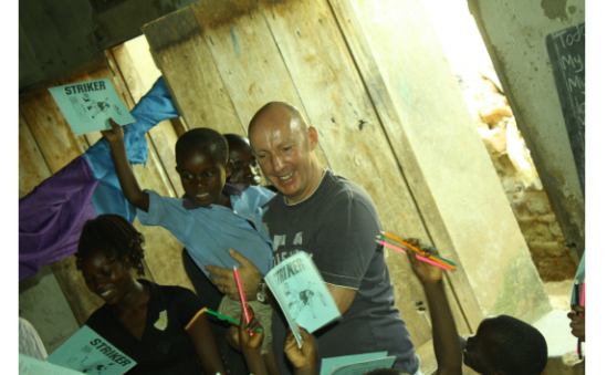 At the Orphanage in Uganda