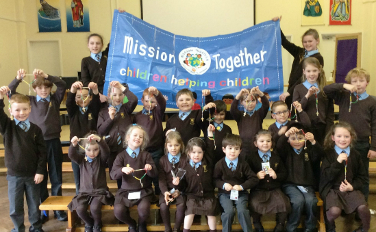 Children across England and Wales raise money for Mission Together