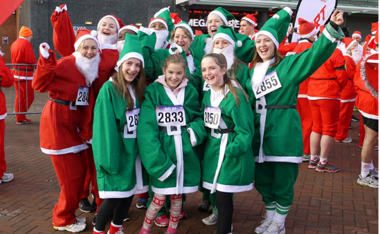 Our Santa Runners